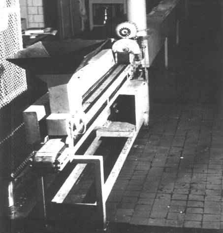 Установка для формирования брикетов из халвы 3248/1К