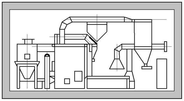 Агрегат для обжарки зерен кофе и цикория 4704К