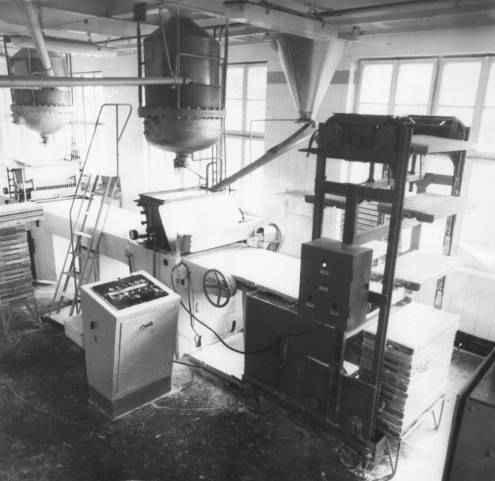 Комплект оборудования для производства конфет, отливаемых в крахмал Ш24-ШКЛ