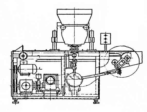 Машина конфетоотсадочная Ш24-ШЛМ