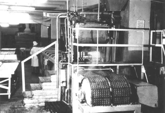Агрегат для заливки мармелада в формы Ш24-ШМА
