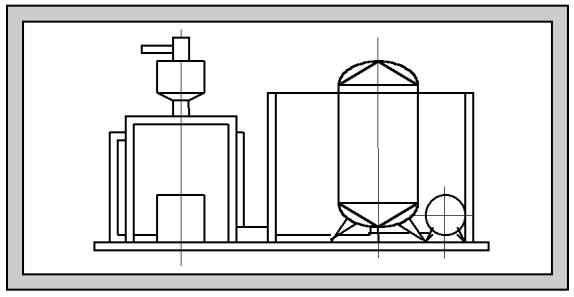 Станция автоматизированная приготовления сахаро-паточных сиропов Ш24-ШСА