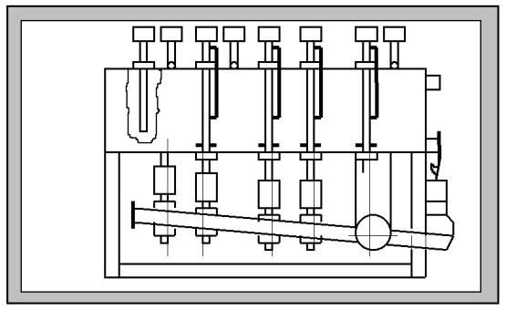 Дозатор жидких компонентов периодического действия Ш24-ХДВ