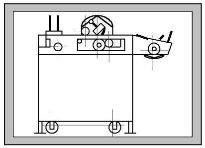 Машина для маркировки крышек краской 4322
