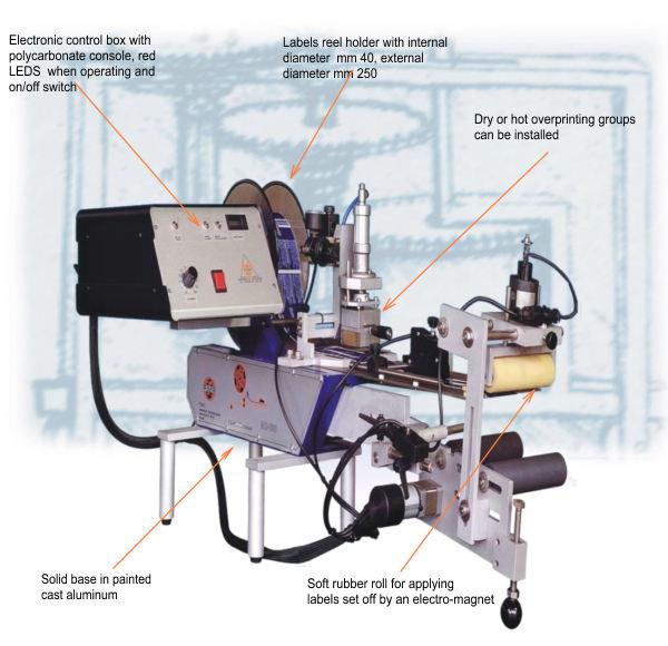 Полуавтоматическая этикетировочная машина D160