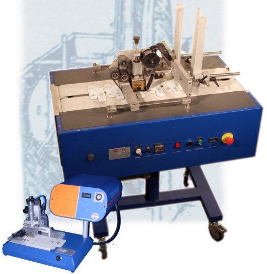 Автоматическая этикетировочная машина для разверток коробок