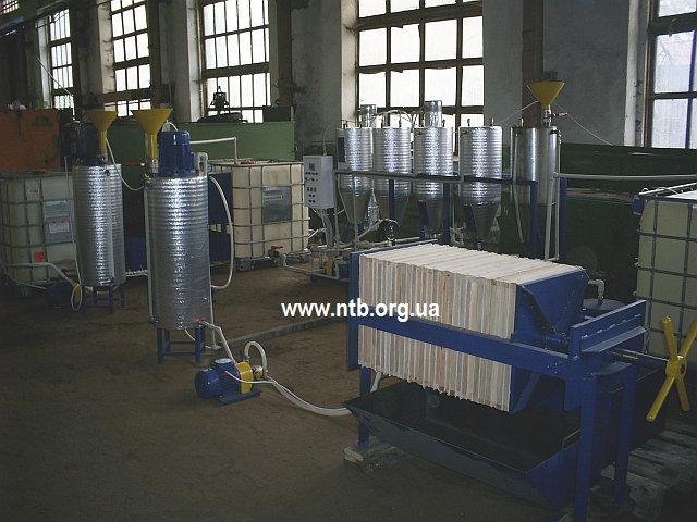 Биодизель — Установка (линия) для производства биодизеля УБД-50