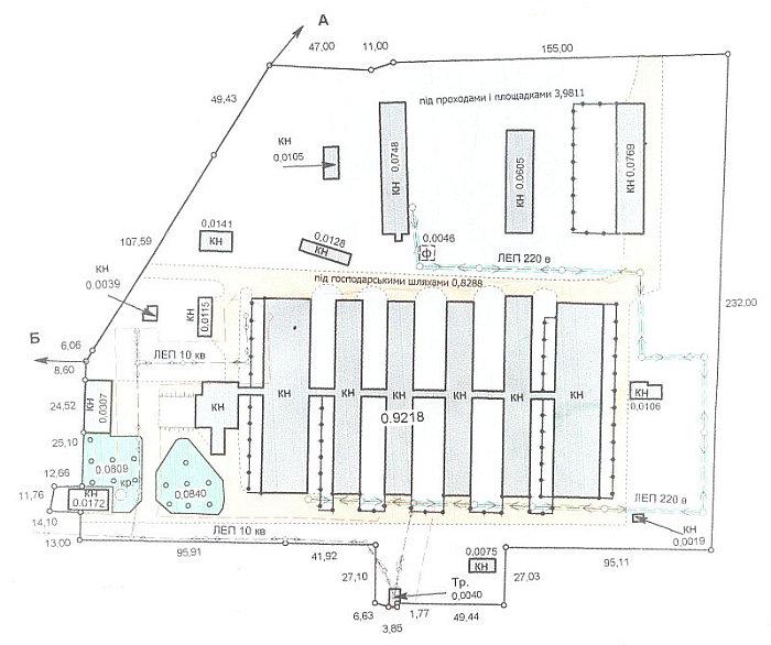 Схема фермы